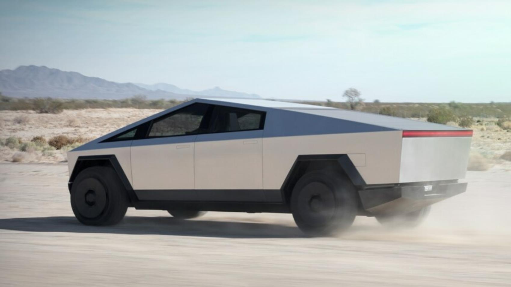 Tesla-Cybertruck-Electric-Pickup-Truck-Rear