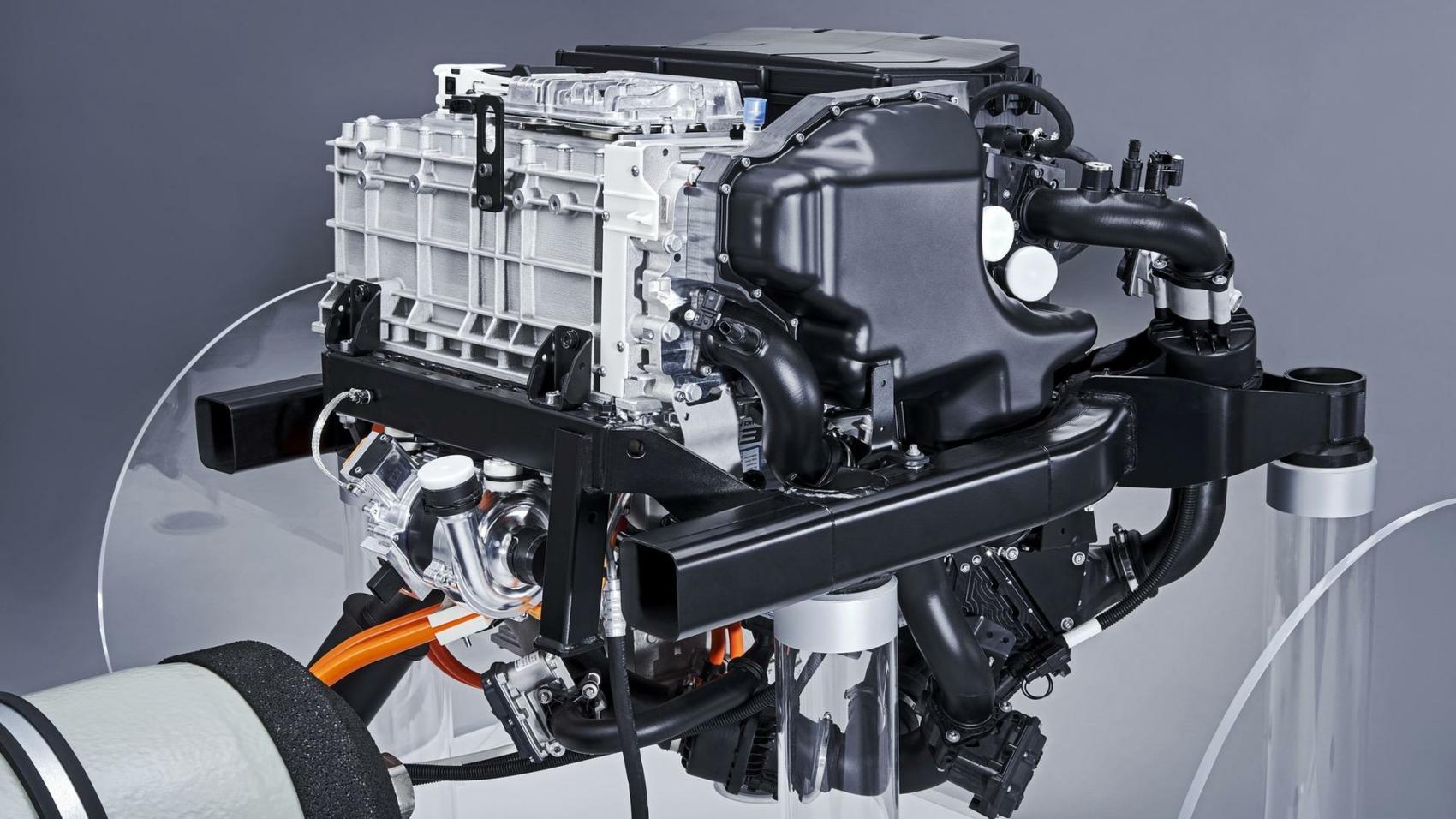 powertrain for the BMW i Hydrogen NEXT-03