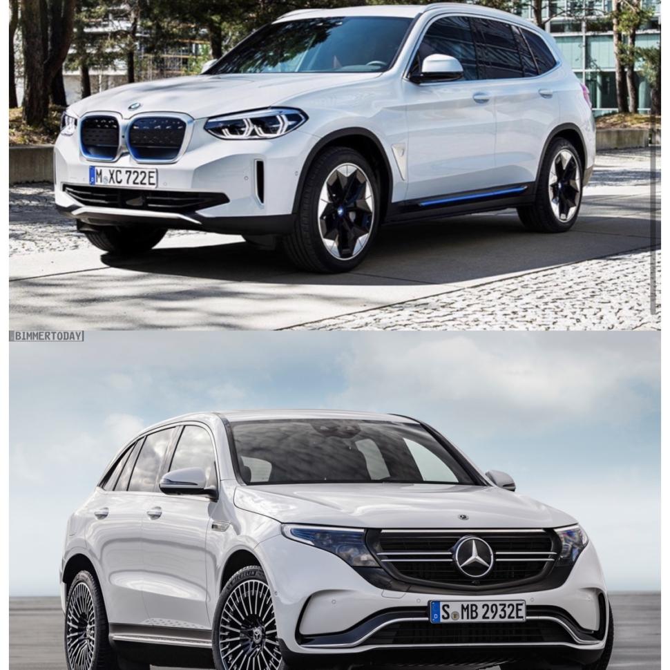BMW iX3 vs Mercedes-Benz EQC