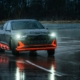 Audi e-tron Sportback drifting
