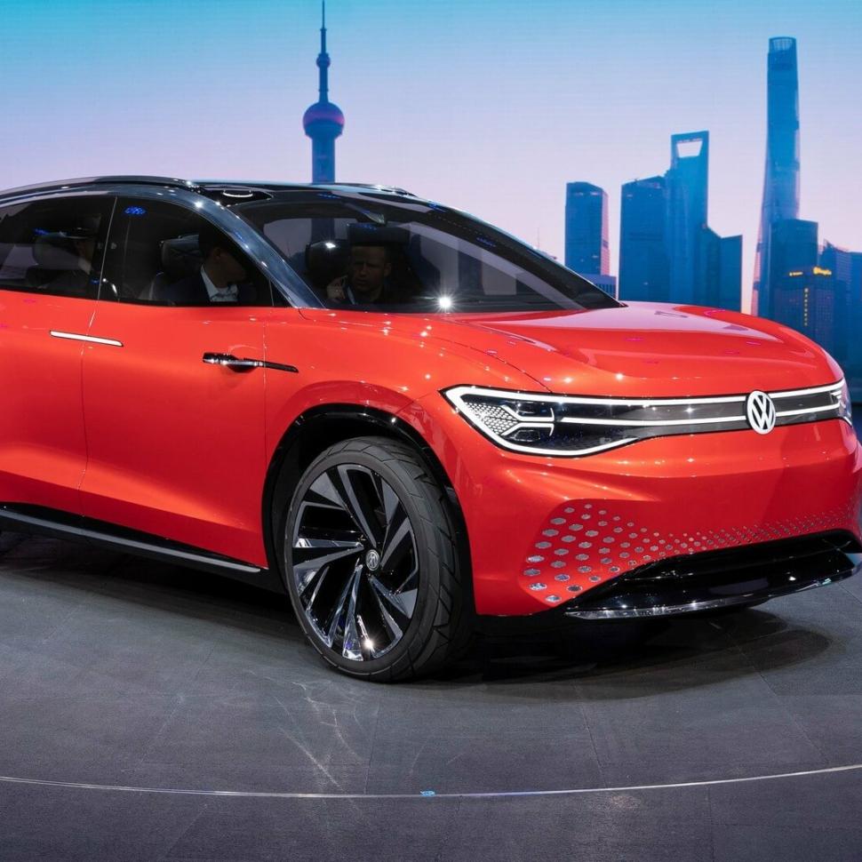 2019 VW ID Roomzz concept