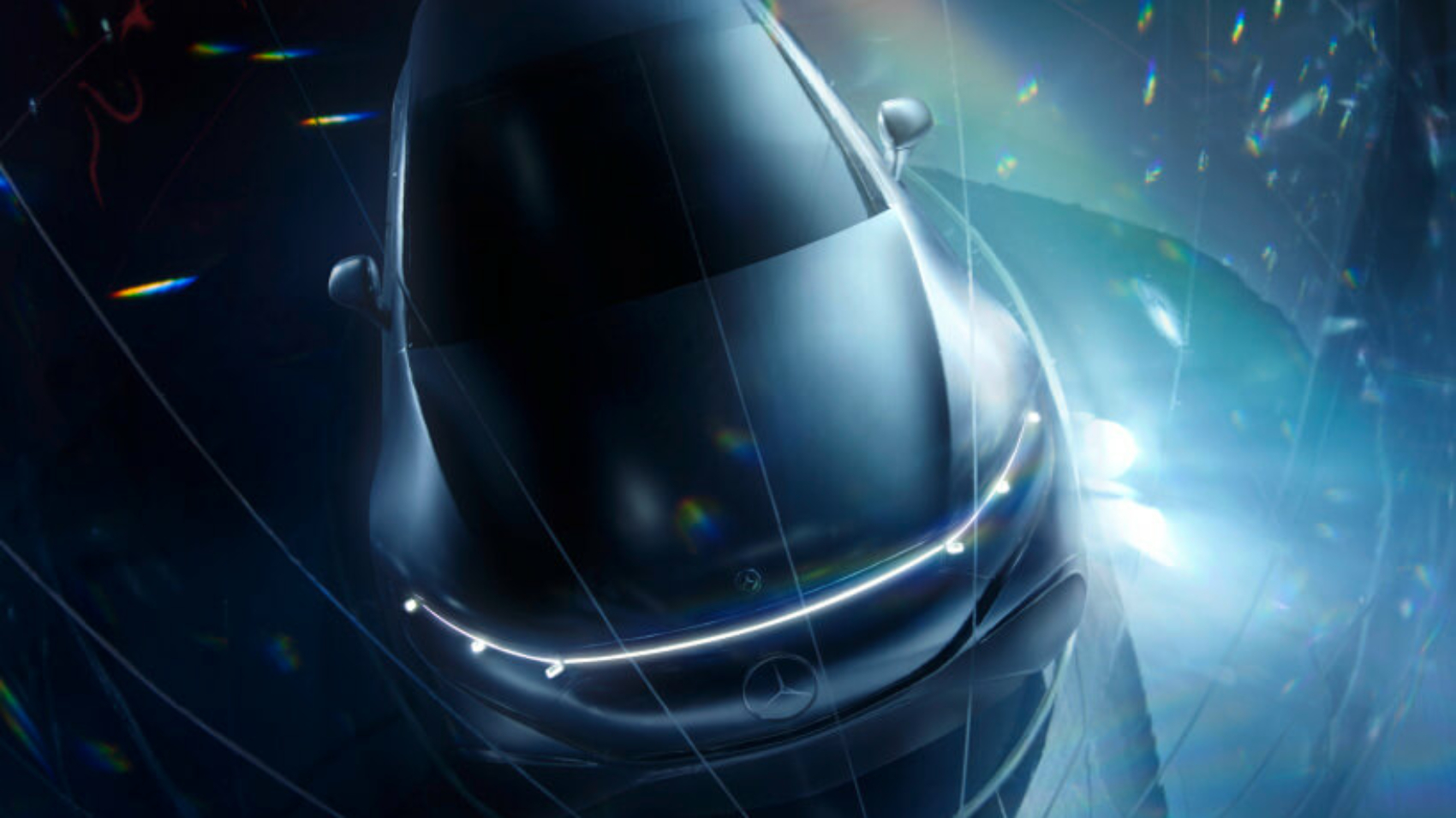 2022 Mercedes EQS teaser
