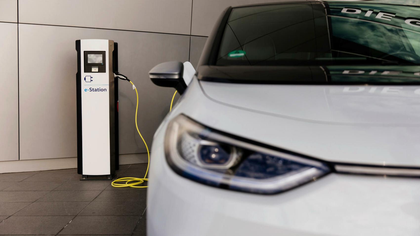 Volkswagen ID3 charging