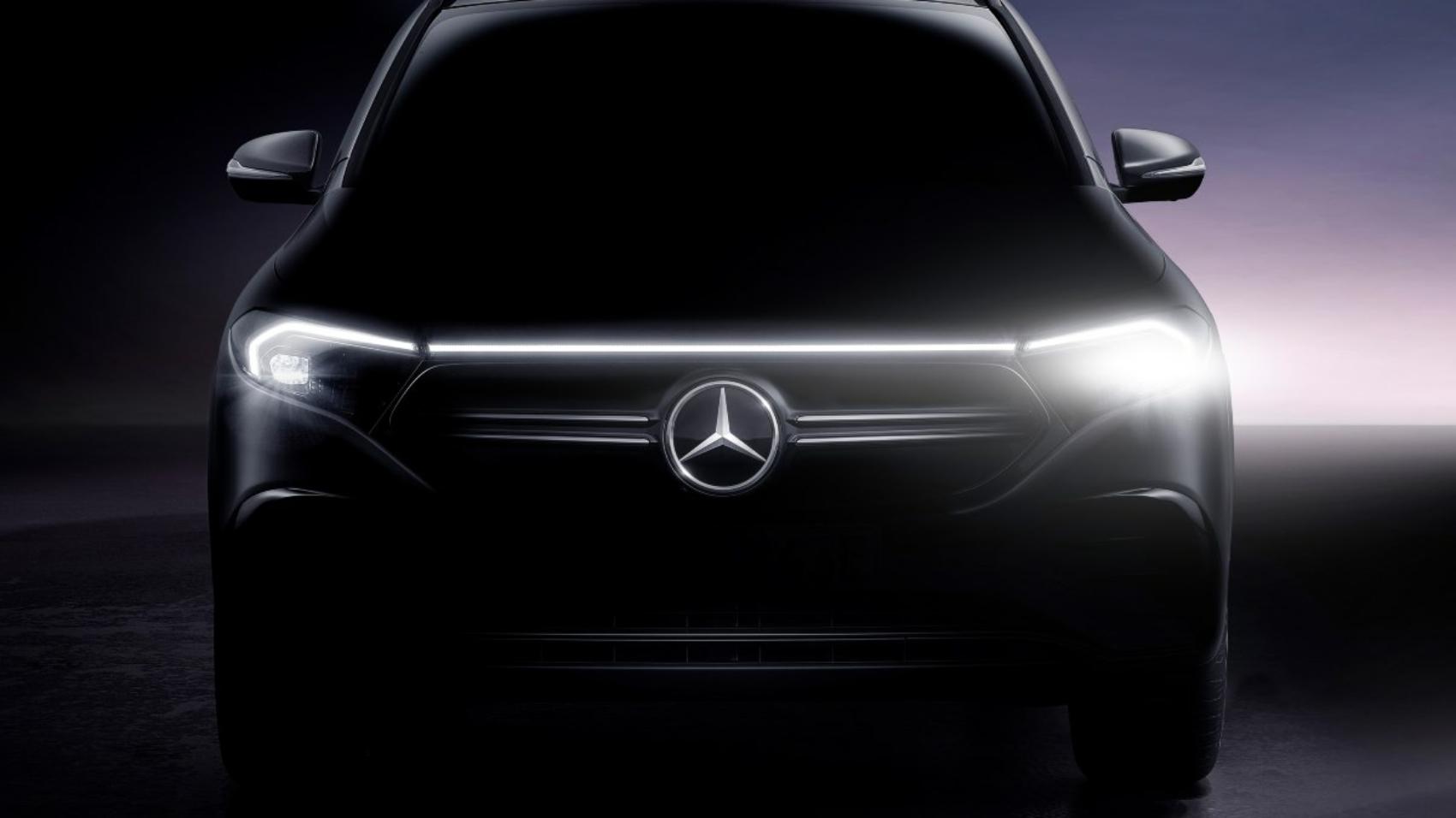 2022 Mercedes EQA final teaser