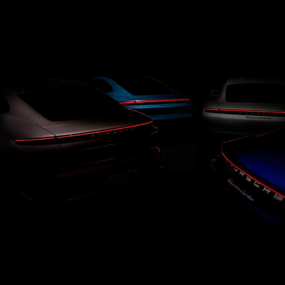 Porsche teases new Taycan version