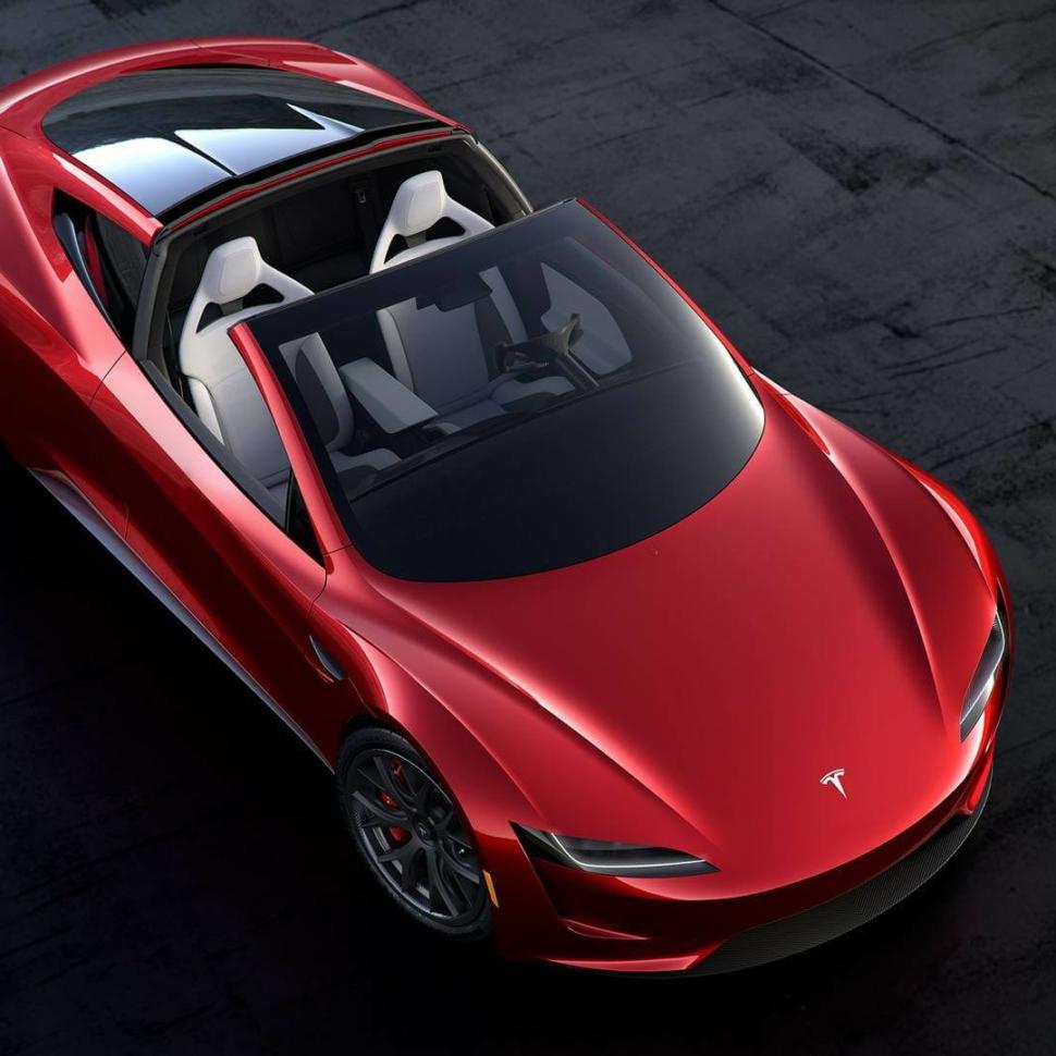 Second-gen Tesla Roadster