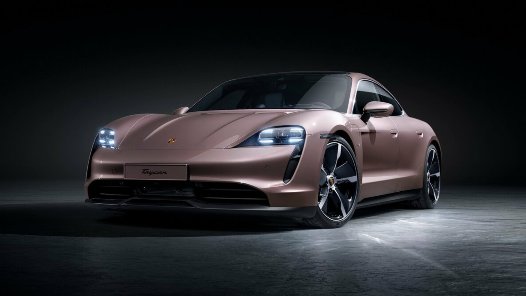 2021 Porsche Taycan base model with rear-wheel drive