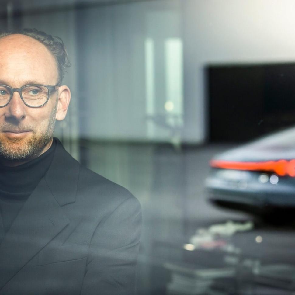 2022 Audi E-Tron GT teaser