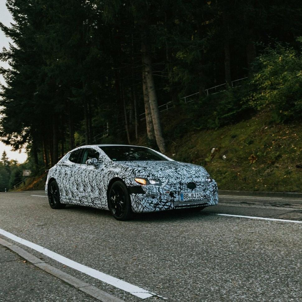 2023 Mercedes EQE teaser photo