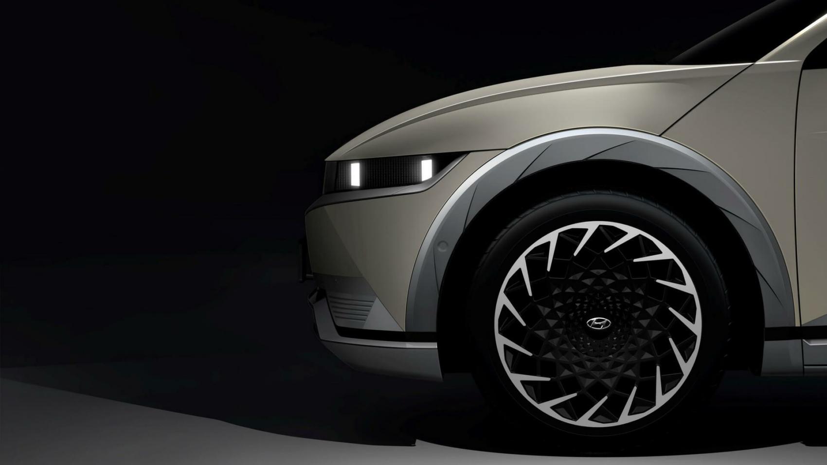 2022 Hyundai Ioniq 5 teaser