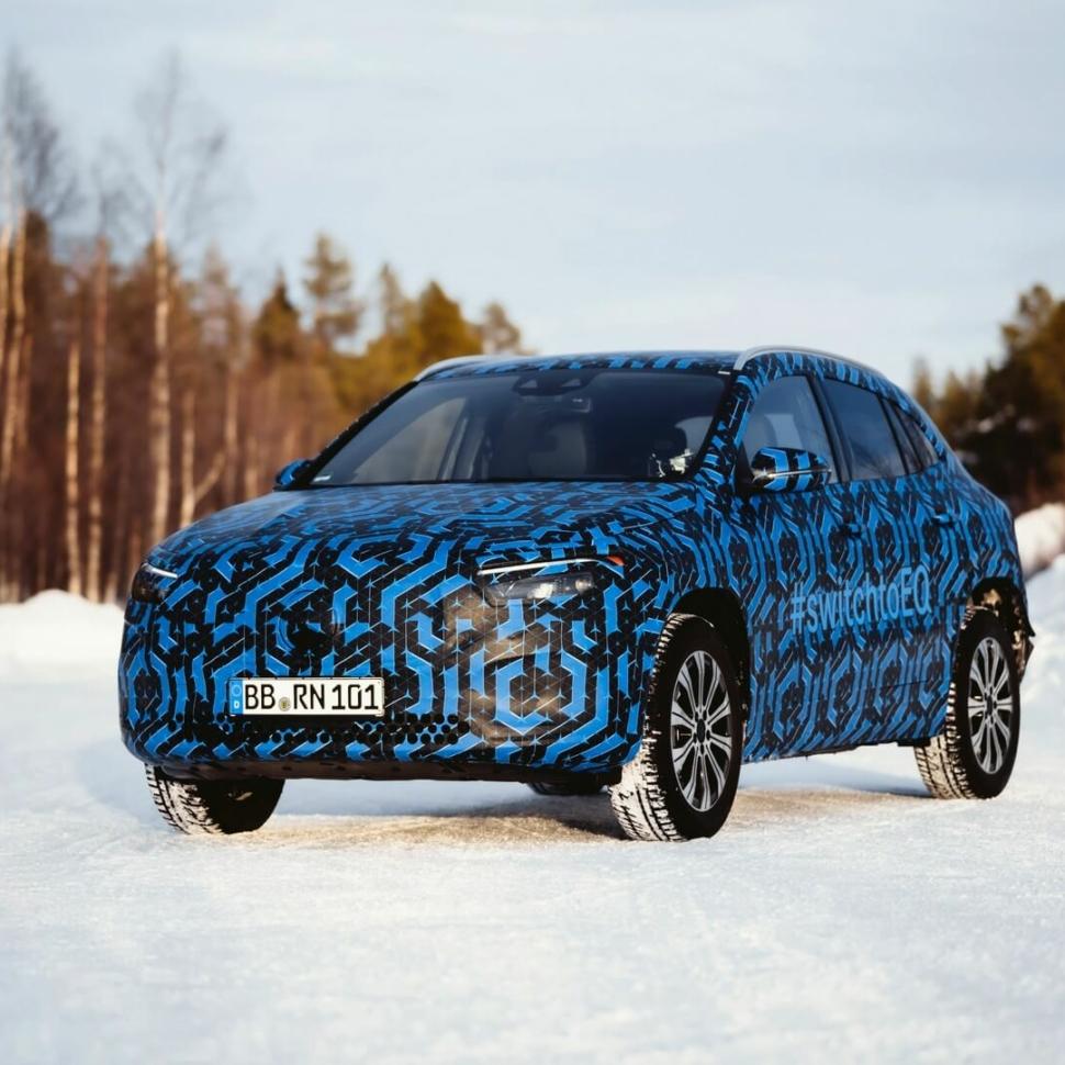 Mercedes EQA teaser