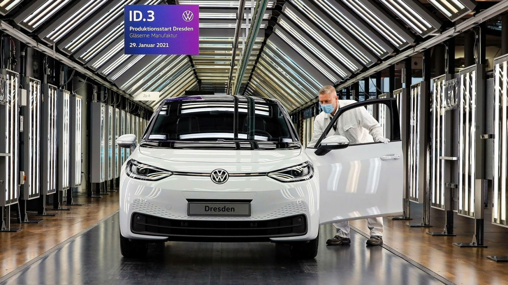VW ID.3 enters series production at Dresden plant