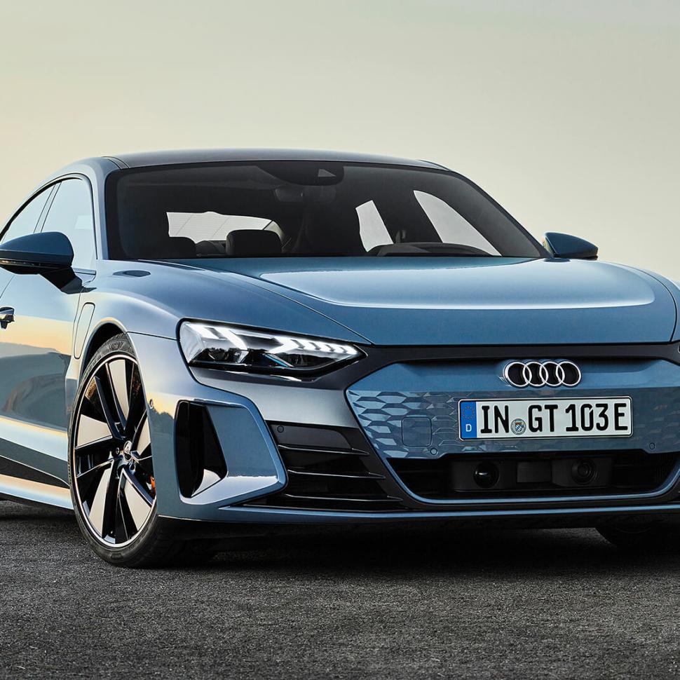 2022 Audi E-Tron GT regular version