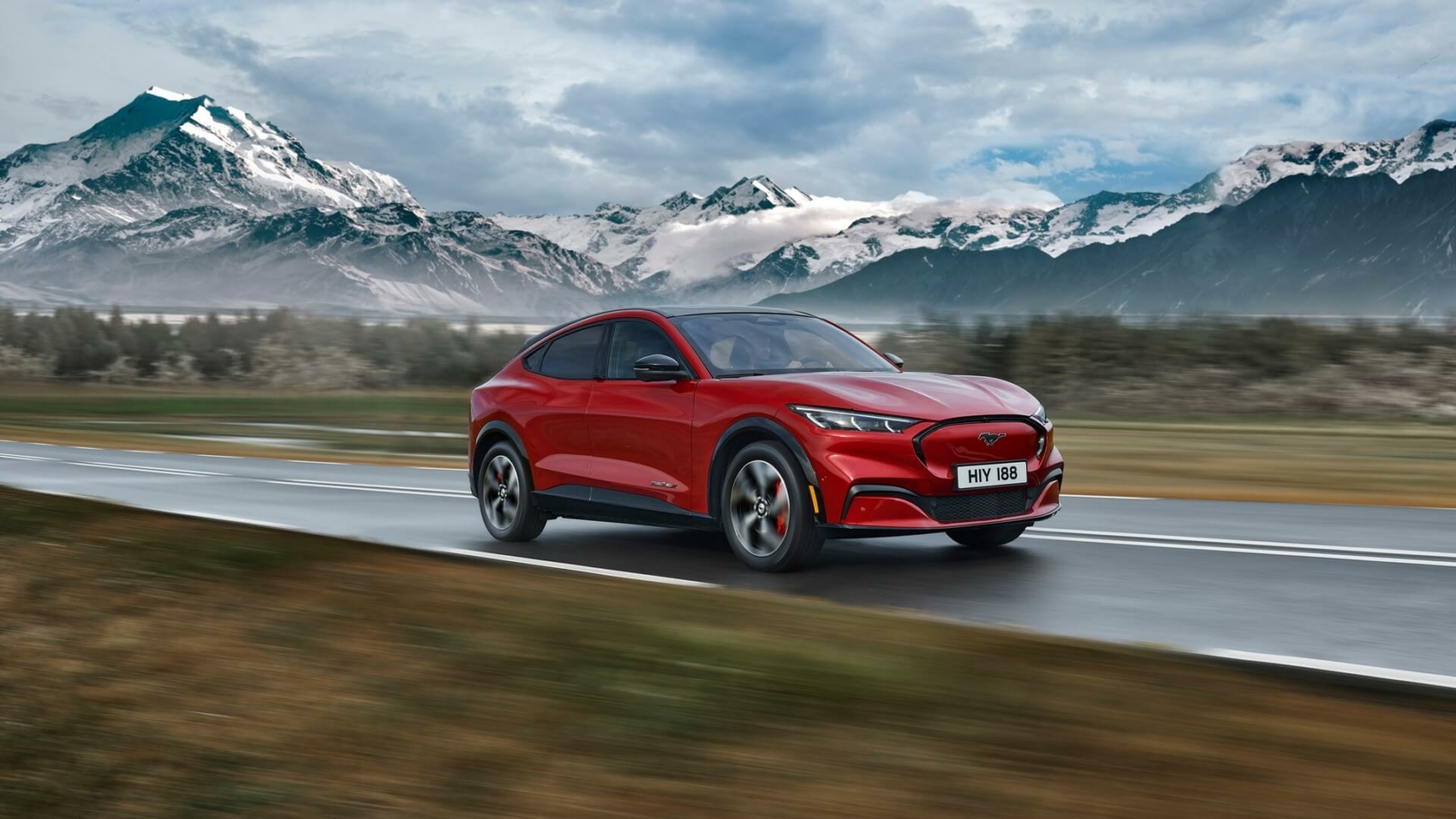 Ford Mustang Mach E in Europe