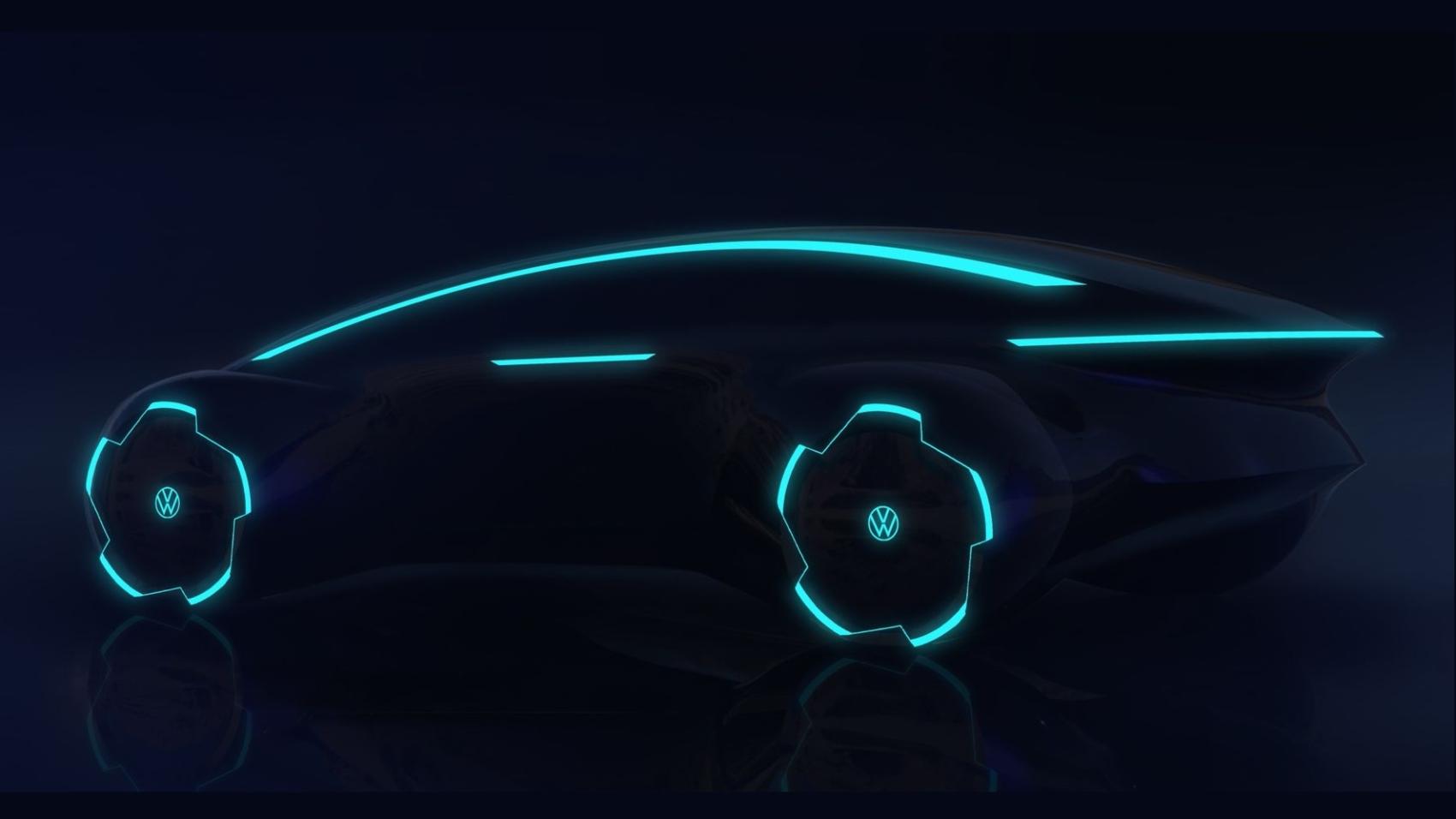 Volkswagen Trinity sedan teaser
