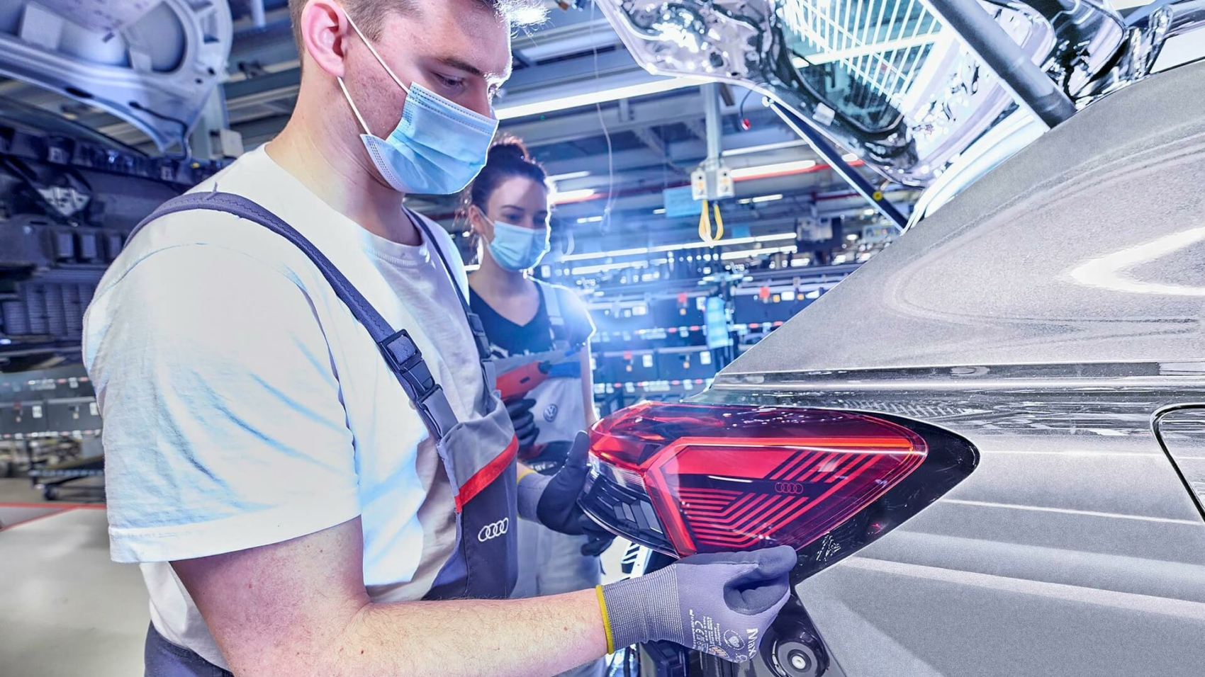 Audi Q4 E-Tron enters production