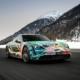 Porsche Taycan 4S art car