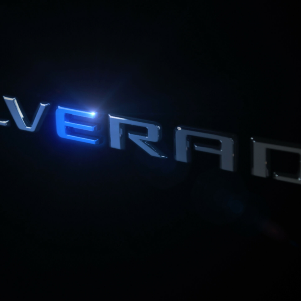 Chevy Silverado electric teaser