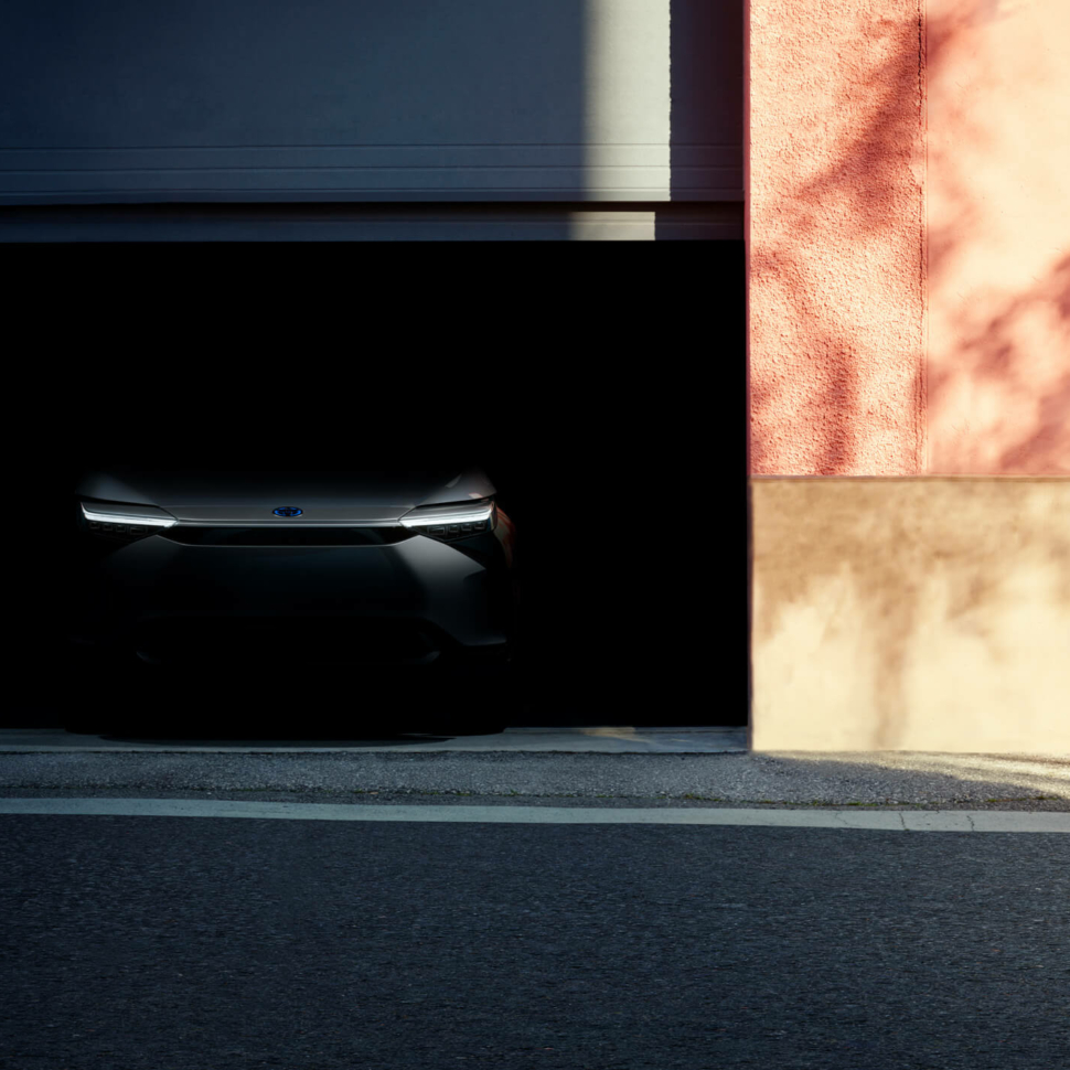 Toyota electric SUV teaser