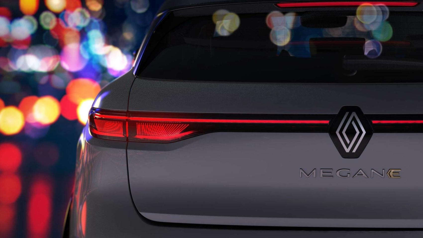 Renault Megane E-Tech Electric teaser