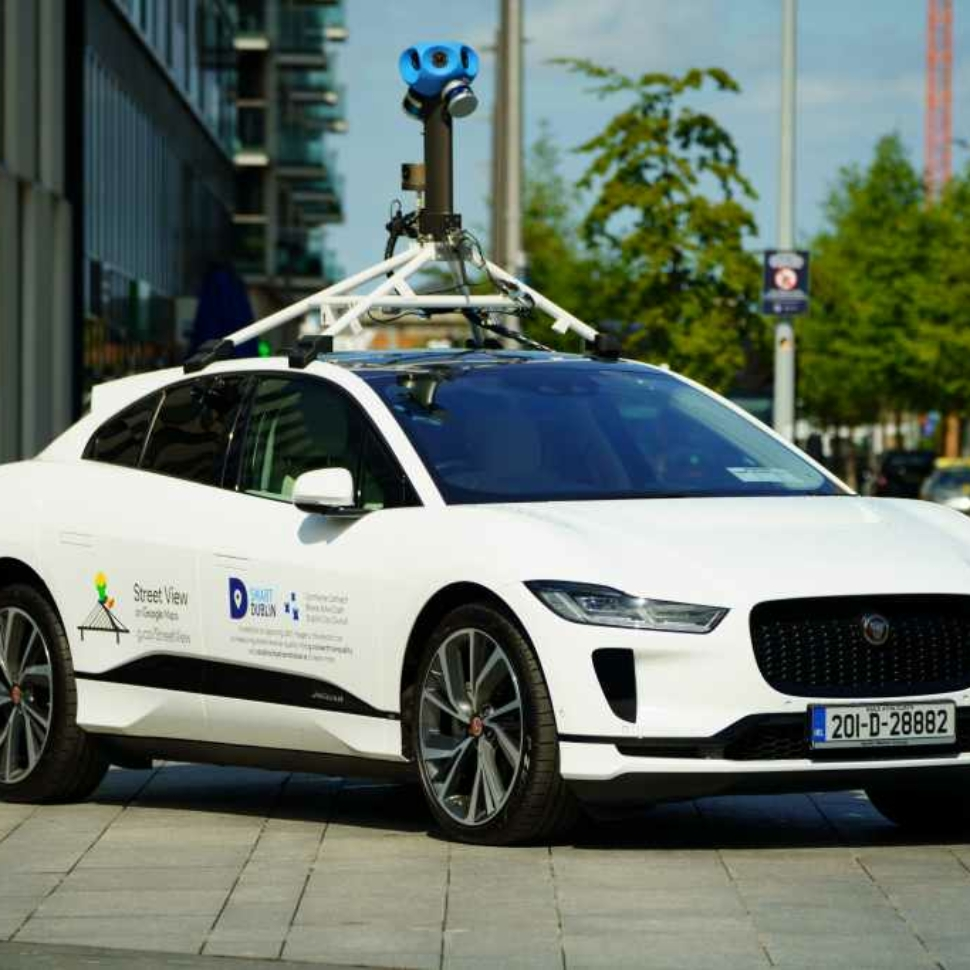 Jaguar I-Pace Google Street View car