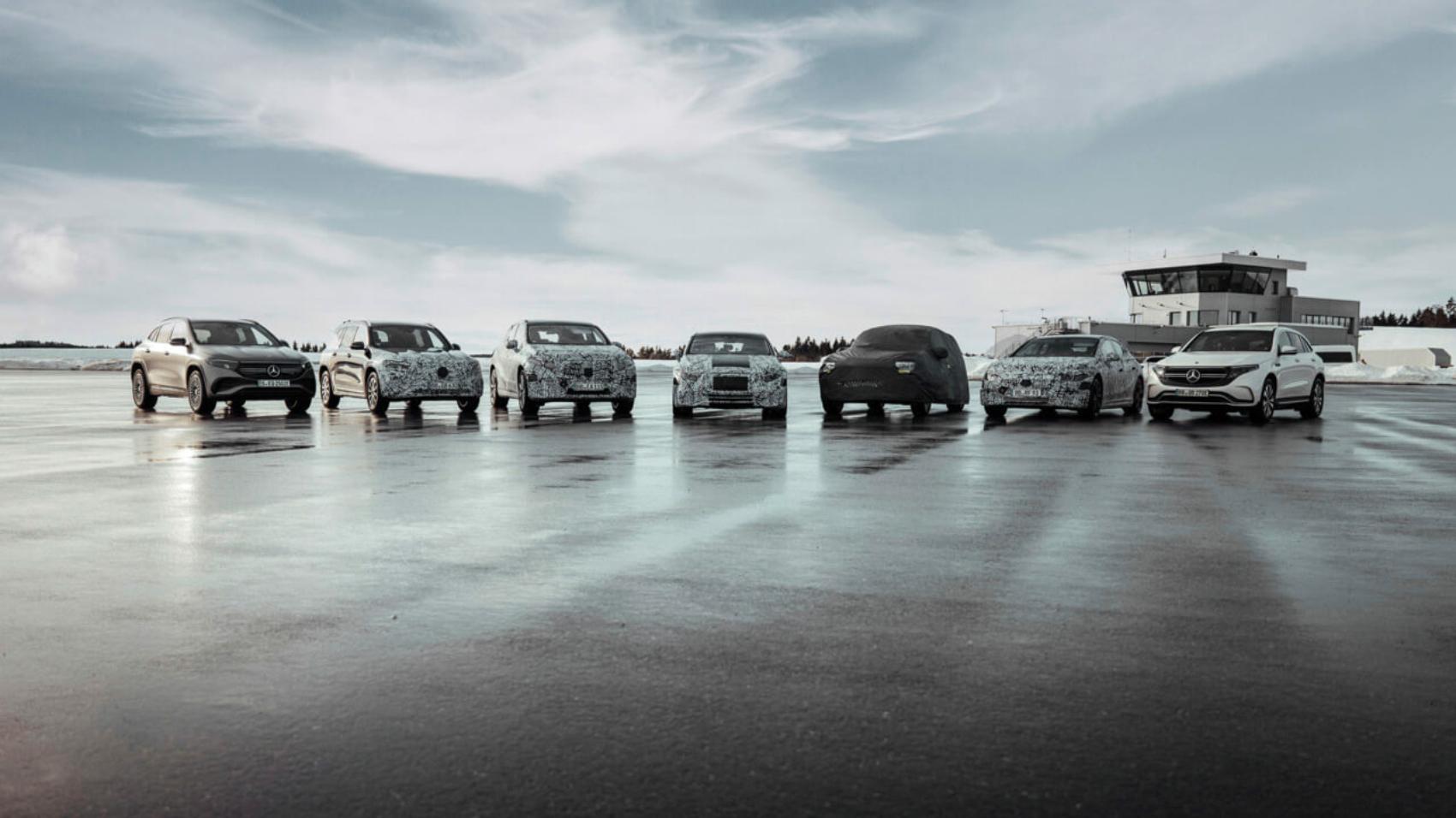 Mercedes EQ lineup