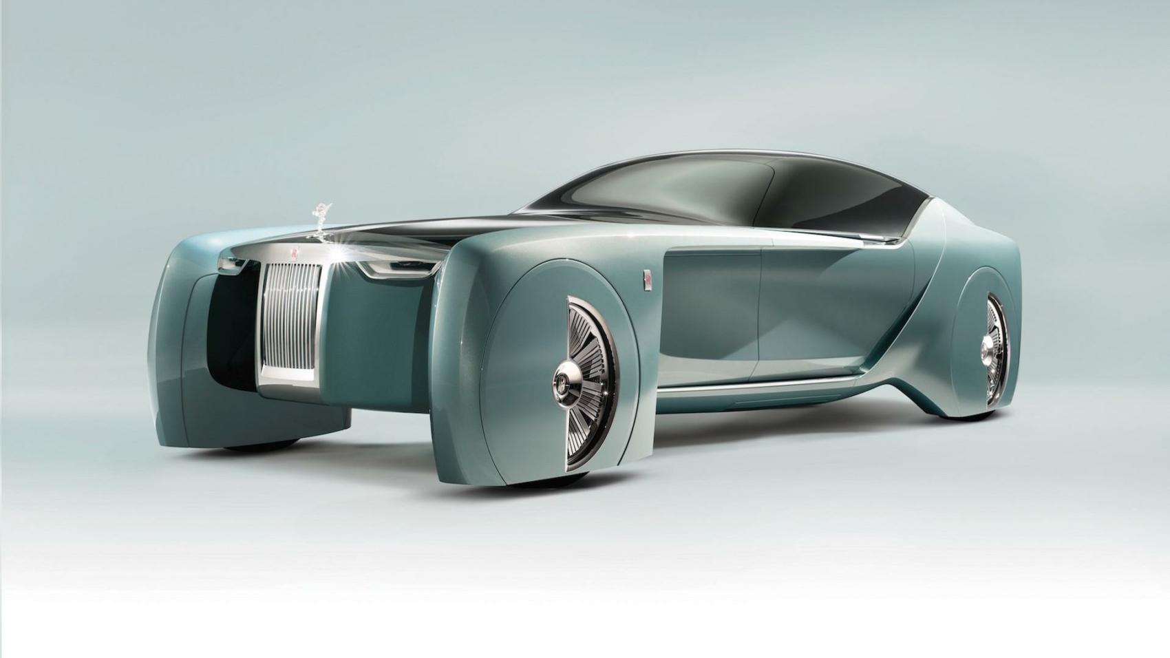 Rolls Royce Vision Next 100-con