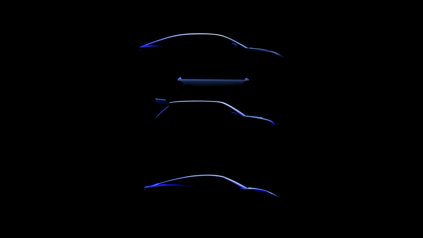 Alpine EV lineup teaser
