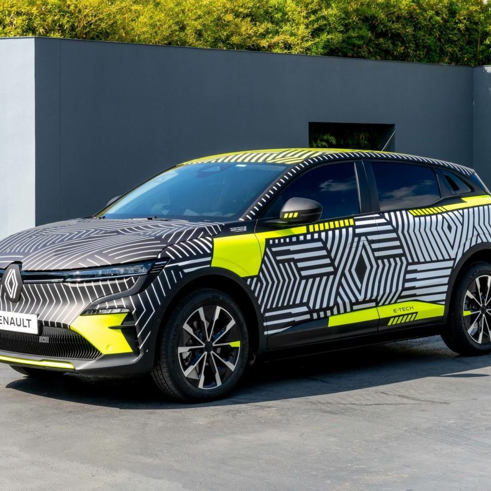 Renault Megane E-Tech Electric pre-production prototype