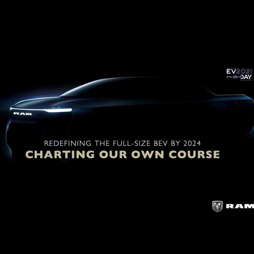 2024 Ram 1500 EV teaser