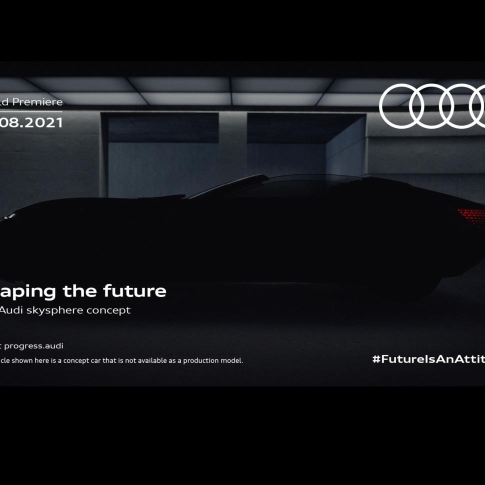 Audi Skysphere concept teaser