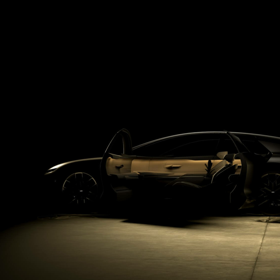 Audi Grand Sphere concept teaser