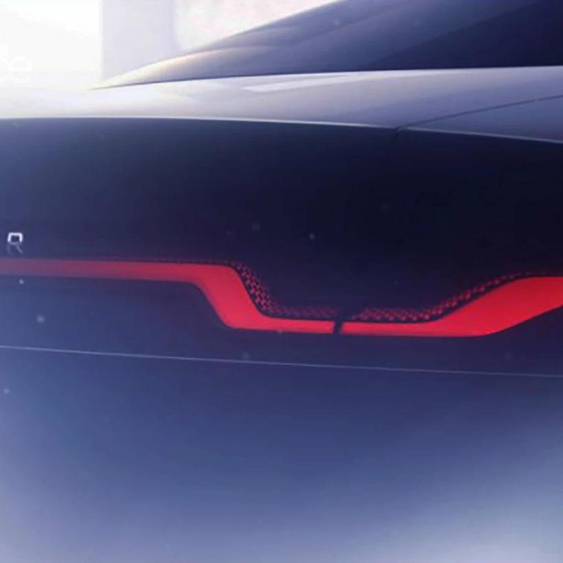 Electric Jaguar XJ sedan teaser