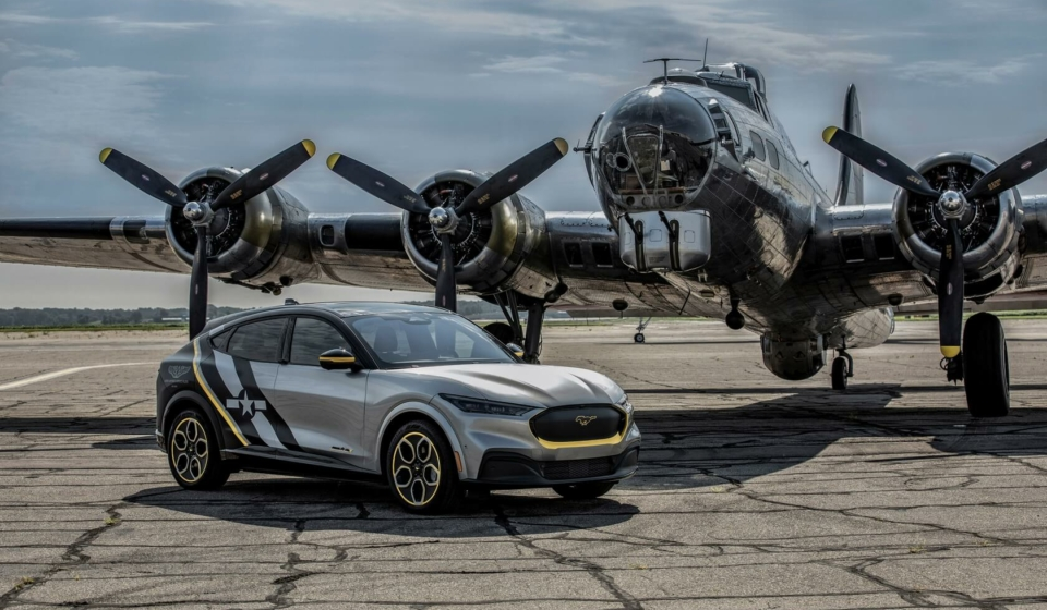 One-off Ford Mustang Mach-E honoring Women Airforce Service Pilots