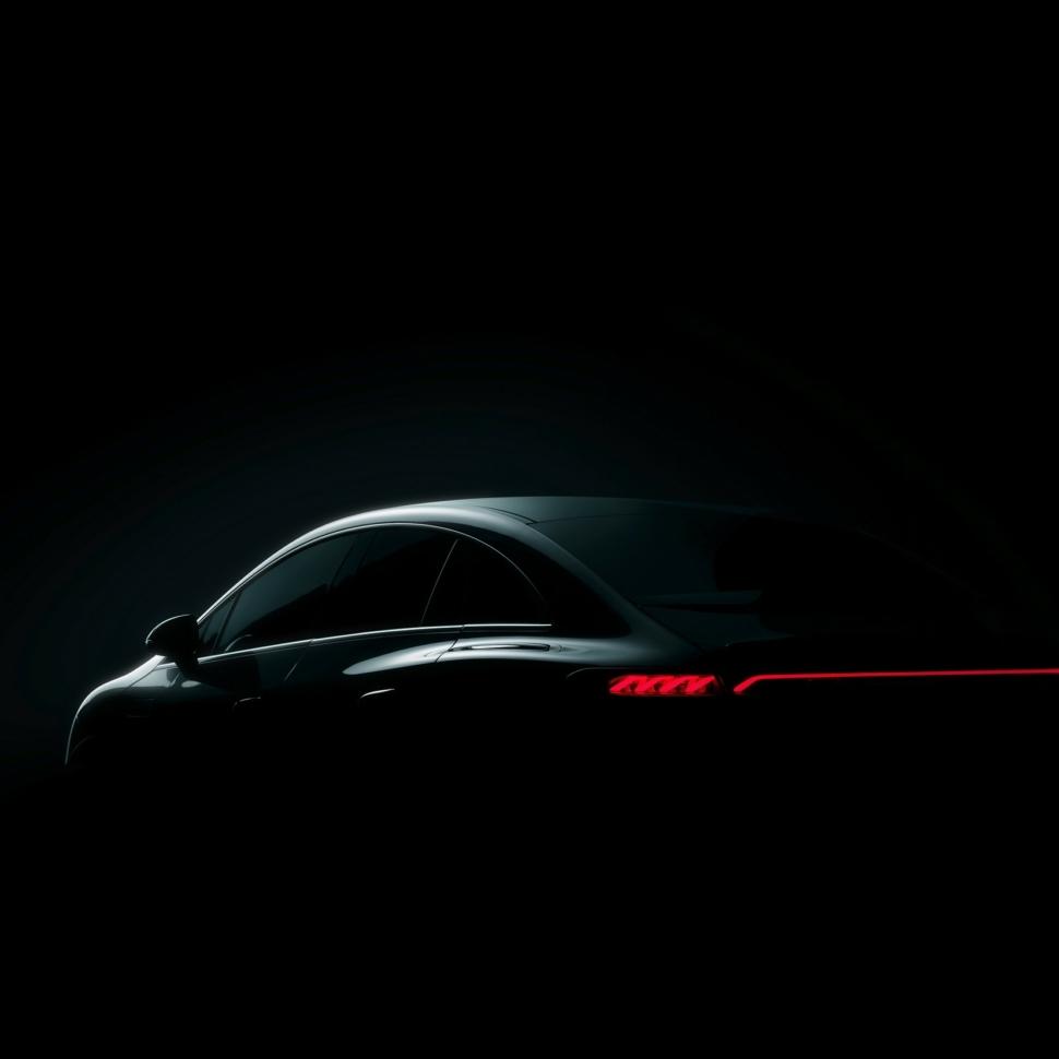 2022 Mercedes EQE teaser
