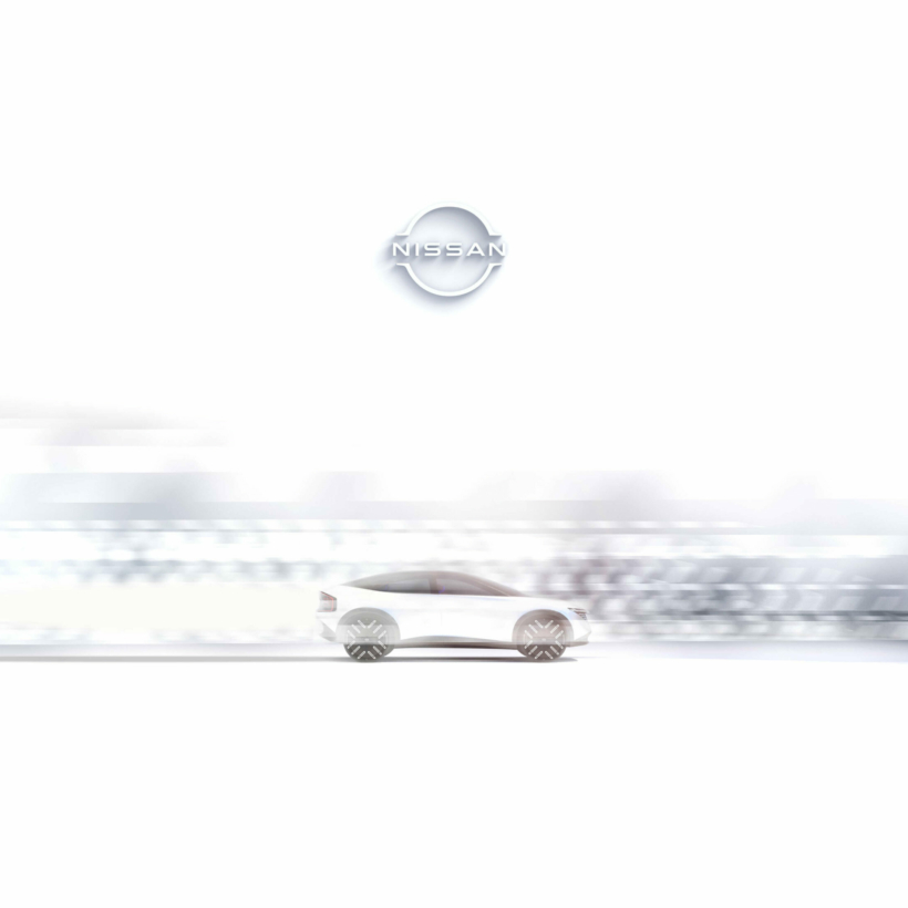 Nissan electric crossover teaser