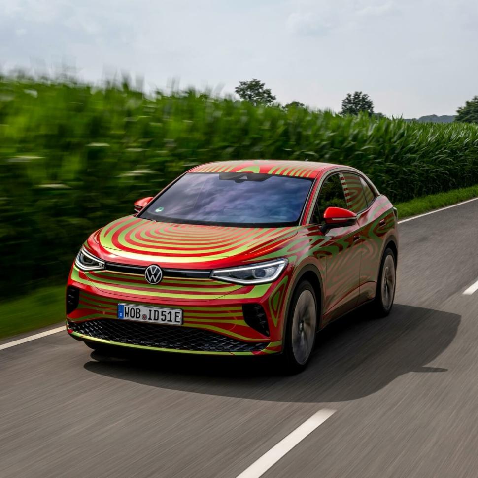 2022 Volkswagen ID.5 GTX teaser