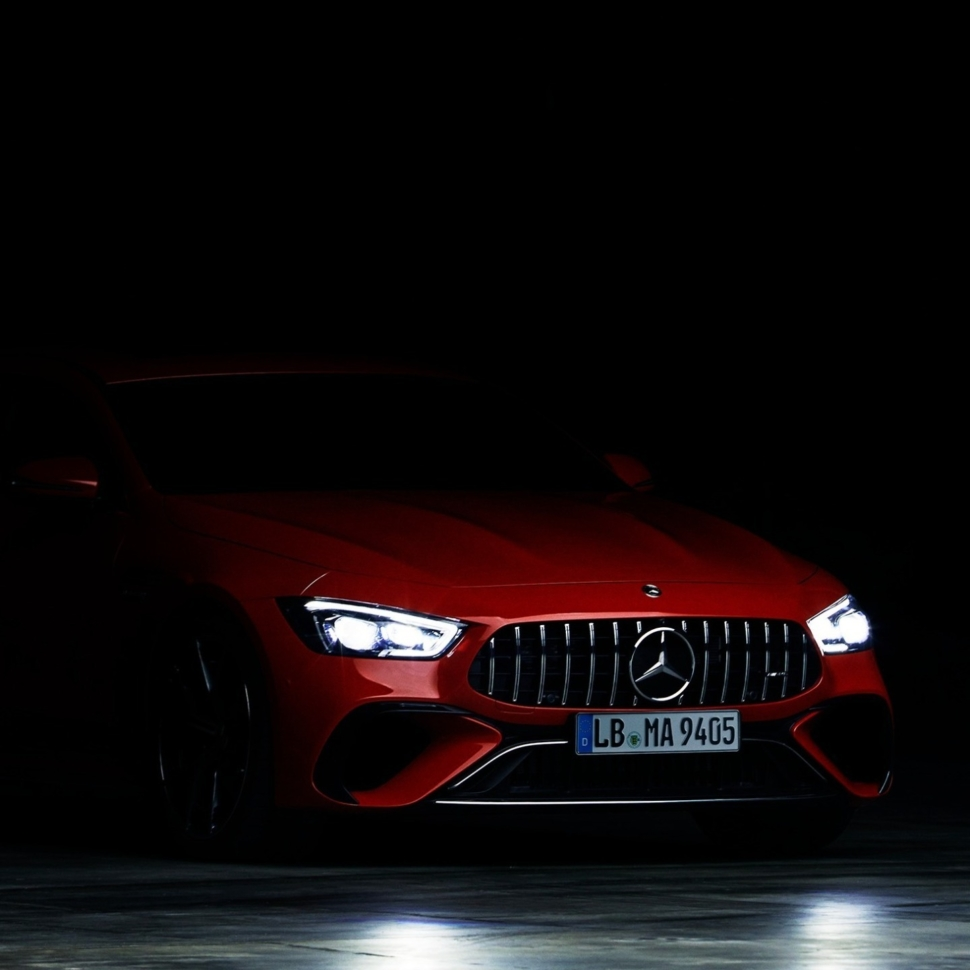 Mercedes-AMG plug-in hybrid teaser