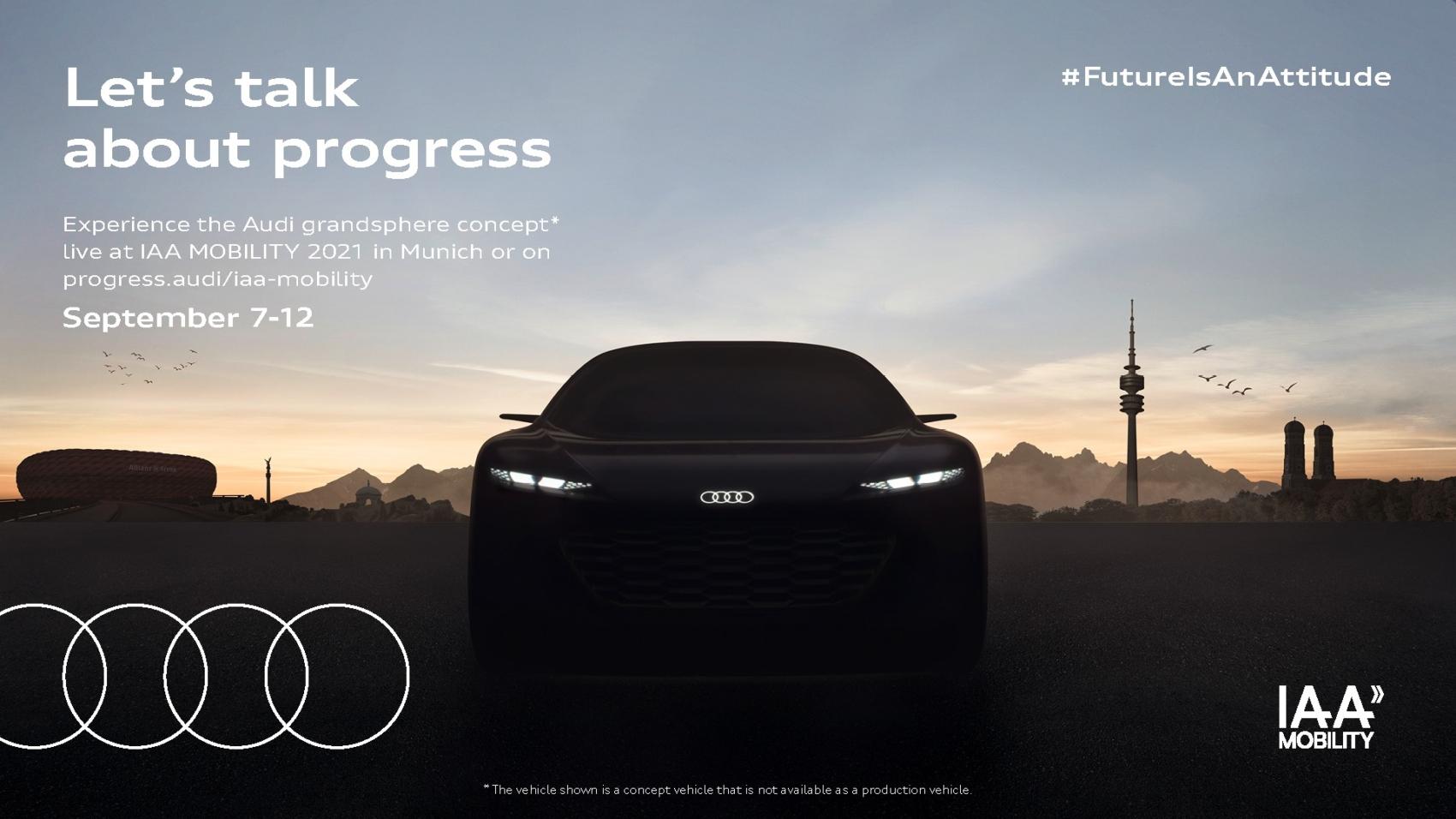 Audi Grandsphere teaser