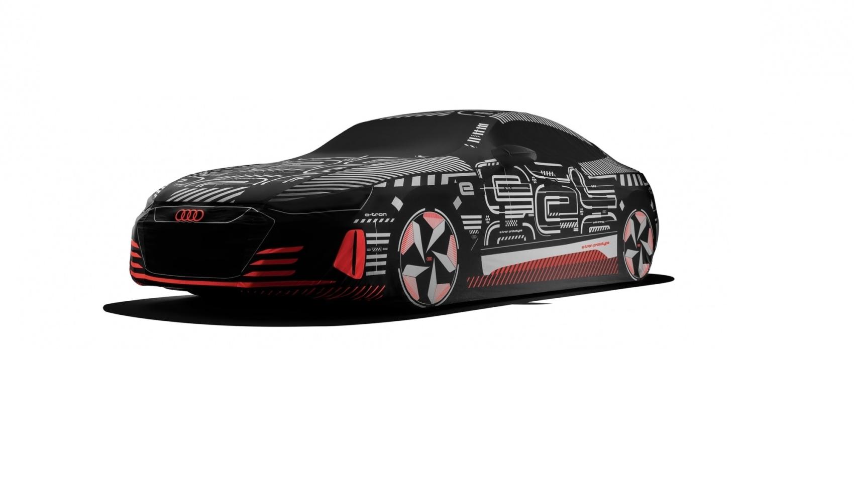 Audi E-Tron GT car cover