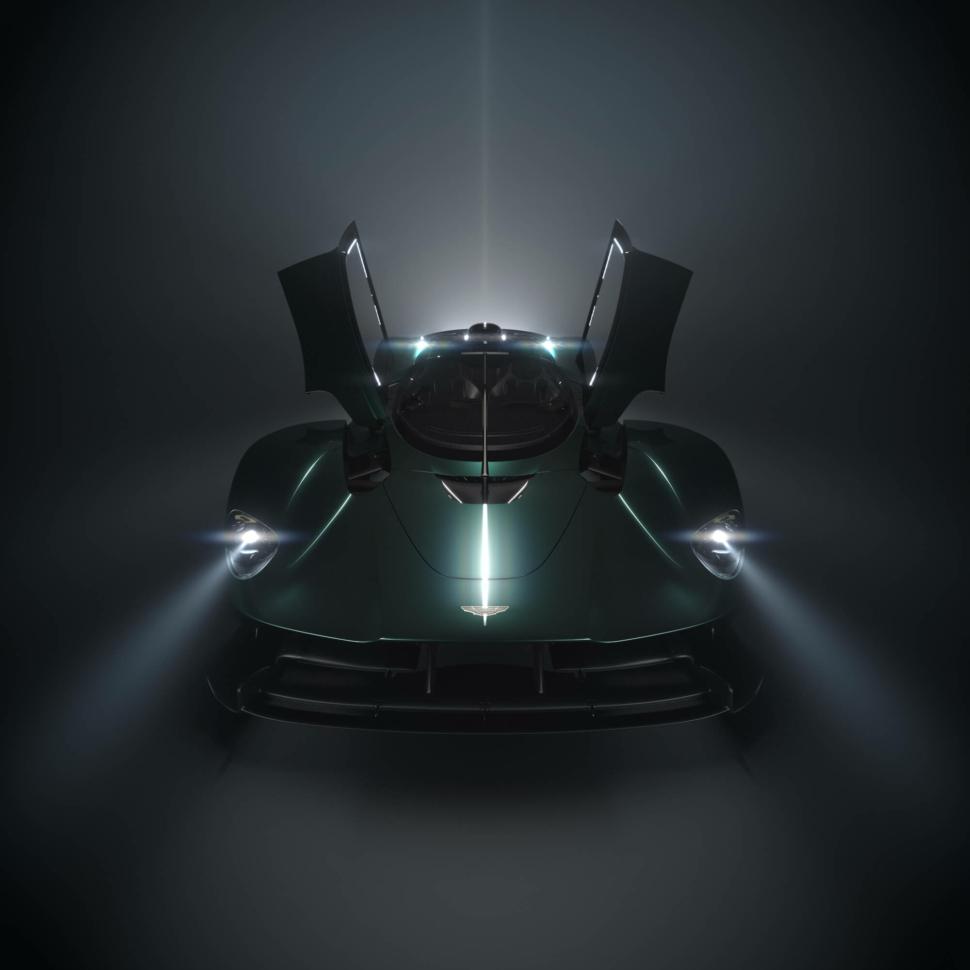 Aston Martin Valkyrie Roadster teaser