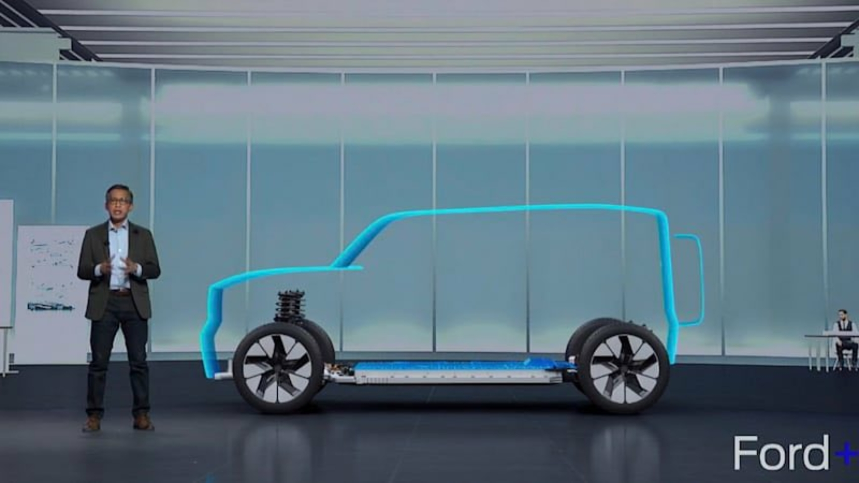 Ford Bronco electric teaser