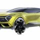 2022 Kia Sportage teaser of European version