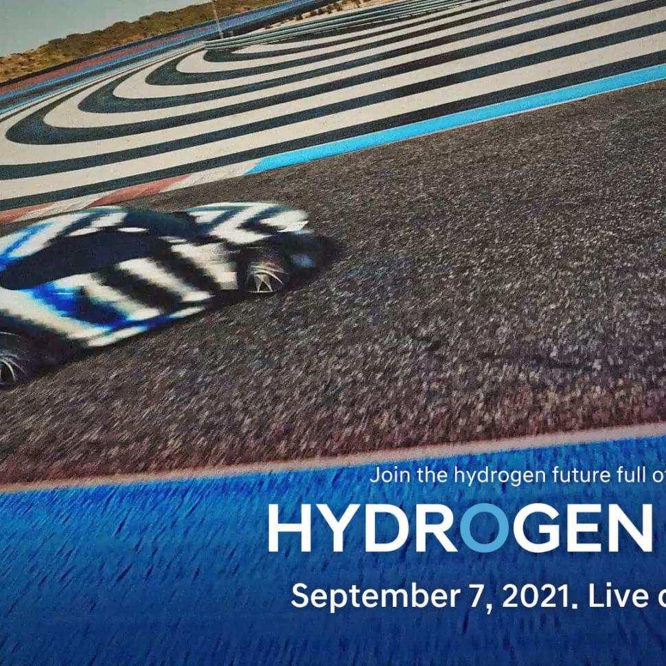 Hyundai hydrogen sports car teaser