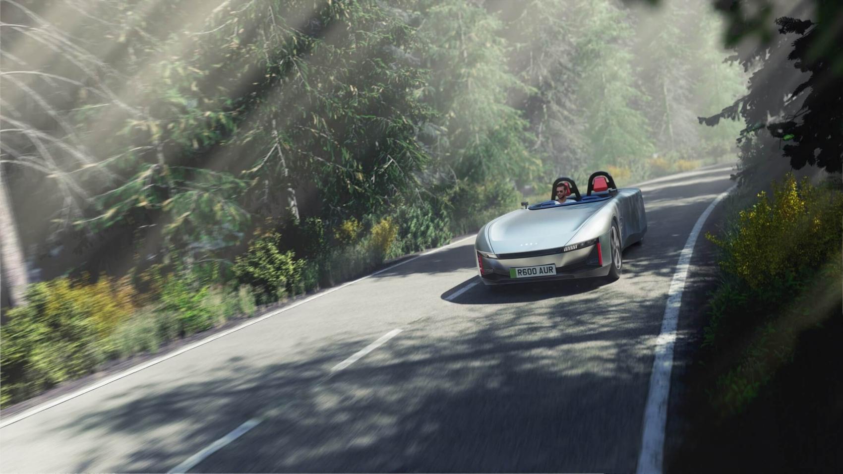 Aura electric sports car
