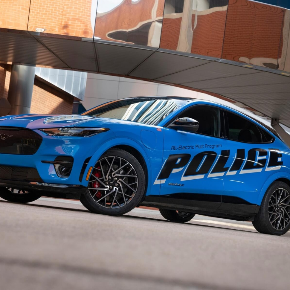 Ford Mustang Mach-E Police Pilot Vehicle