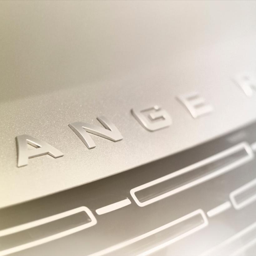 2022 Range Rover teaser