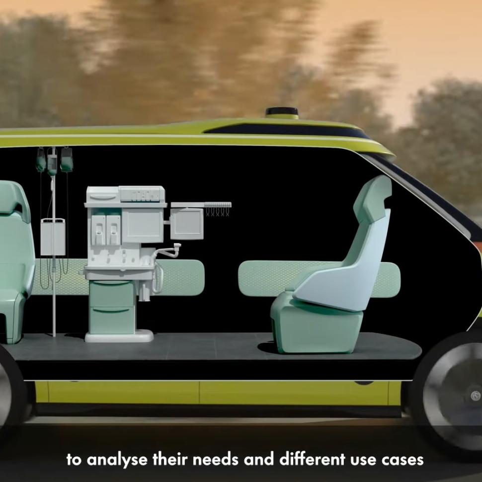 VW ID Buzz ambulance