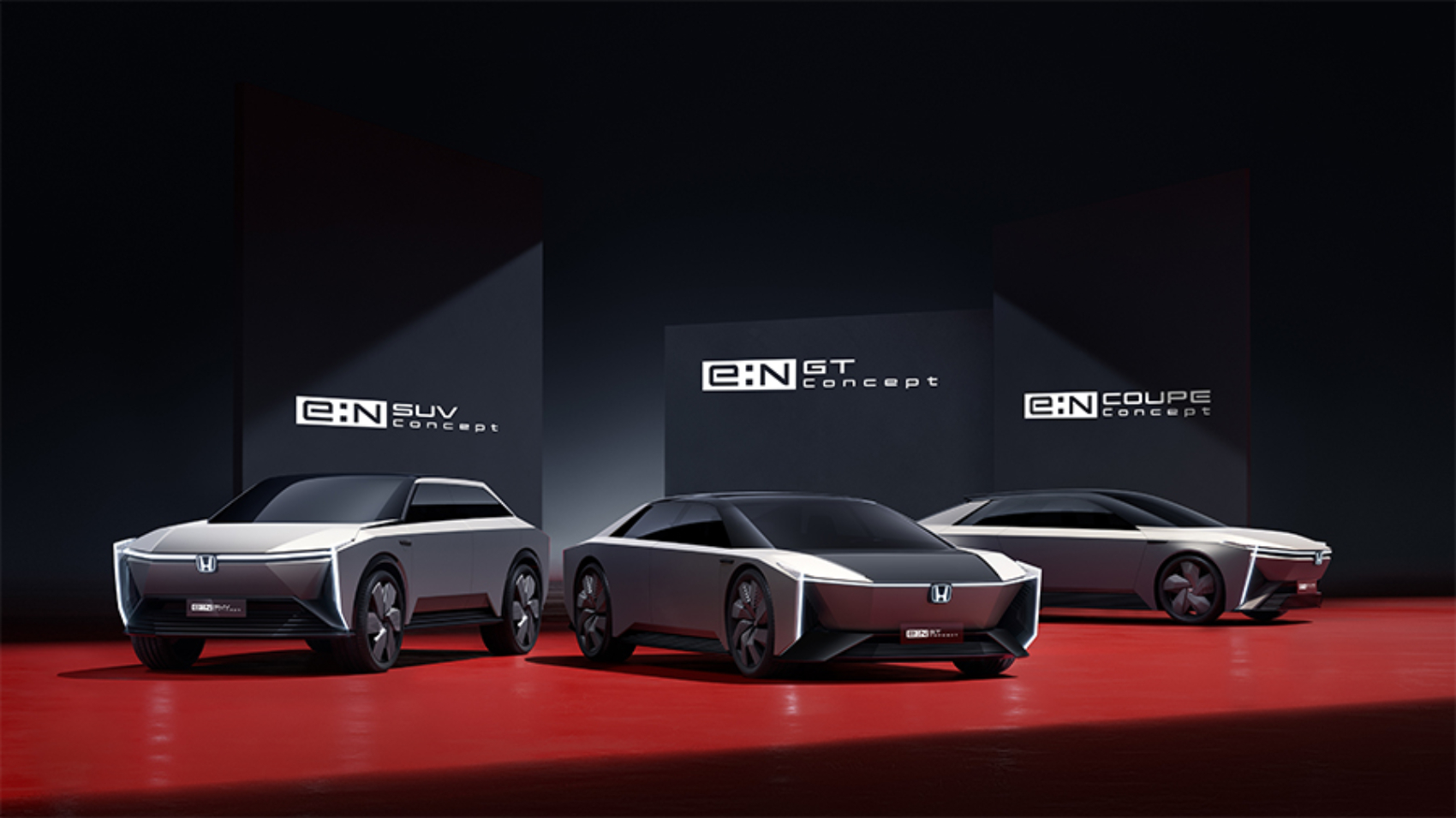 Honda e:N SUV, GT, Coupe electric concepts